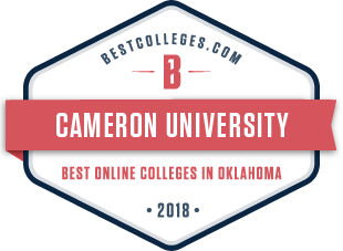 Best Online Colleges in Oklahoma 2018 logo